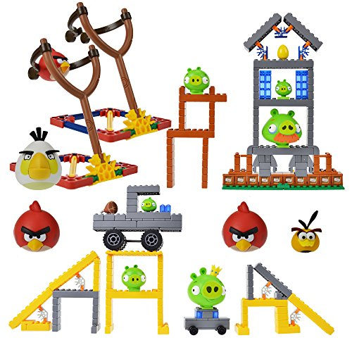 K'nex Angry Birds Mission Mayham and Hammin Around with 2 Character Set (Angry Bird Mashems Space compare prices)