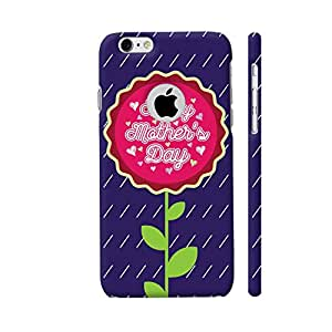 Colorpur Flower Happy Mother's Day Designer Mobile Phone Case Back Cover For Apple iPhone 6 / 6s with hole for logo   Artist: Designer Chennai