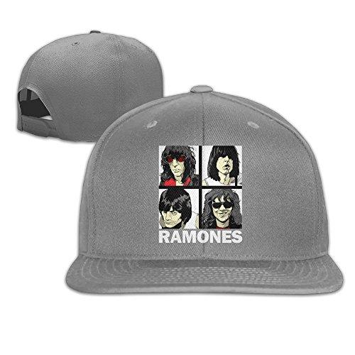 Sady Men's The Sunday Dog Parade: Ramones Plain Caps Sport Baseball Snapback Hats (Danny Sandy Costumes)