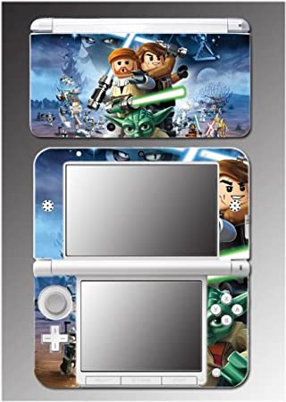 Star Wars 3D Jedi Obi Wan Anakin Yoda Toy Video Game Vinyl Decal Cover Skin Protector 16 for Nintendo 3DS XL