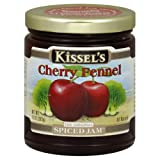 Kissels Spiced Jam, Cherry Fennel, Gluten Free, 10-Ounce (Pack of 3)