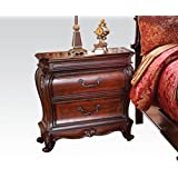 Dorothea Classic French Style Nightstand in Cherry by Acme Furniture