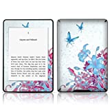 TaylorHe Vinyl Skin Decal for Amazon Kindle Paperwhite Ultra-slim protection for Kindle MADE IN BRITAIN FREE UK DELIVERY Design of Pink purple Vines and Butterflies