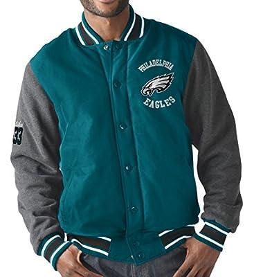 "Philadelphia Eagles G-III NFL ""Original"" Men's Premium Varsity Jacket"