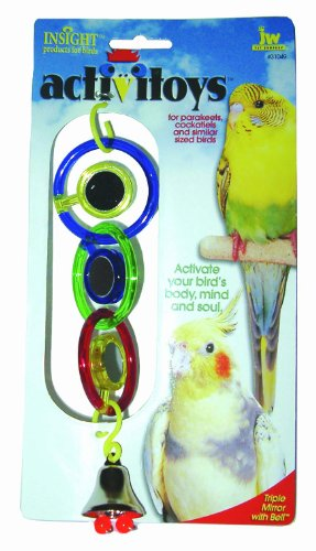 Cheap JW Pet Company Activitoys Triple Mirror Bird Toy (B0002DJVQY)
