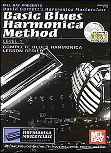 Basic Blues Harmonica Method Level 1 (Harmonica Masterclass Lesson)