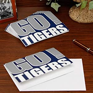 Amazoncom ncaa memphis tigers slogan note cards for Business cards memphis