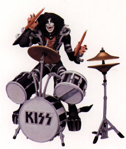 Buy Low Price McFarlane KISS Psycho Circus Tour Edition Peter Criss Figure (B00000JQ1S)