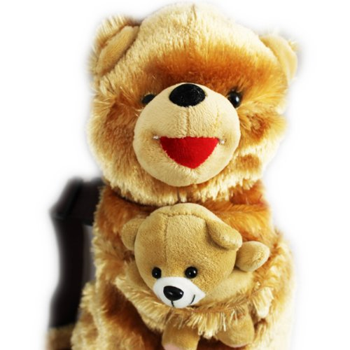 Cuffu Bear STUFFED ANIMAL for Children , Perfect Gift Idea for Age 3-10