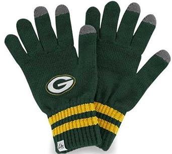 NFL Green Bay Packers Men's Team Player Touch Glove, Dark Green