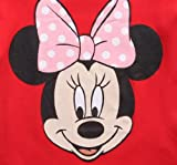 Minnie Mouse Baby-Girls Infant Disney Headshot Tee, Red, 24 Months