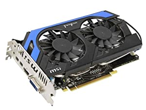 MSI AMD Radeon HD 7850 2GB GDDR5 DVI/HDMI/2xMini DisplayPort PCI-Express Video Card R7850 PE 2GD5/OC