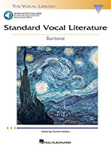 Standard Vocal Literature - An Introduction to Repertoire: Baritone (Vocal Library) with online audio