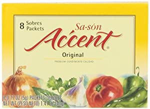 Sa-son Accent Seasoning, Original Flavor, 8-Count Packets (Pack of 36)