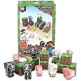 Minecraft Papercraft Animal Mobs Set (Over 30 Pieces)