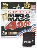 Weider Mega Mass 4000 – Schoko – 7 kg Box