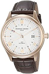Frederique Constant Men's FC350V5B4 Classics Analog Display Swiss Automatic Brown Watch