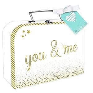 Hochzeitskoffer - you & me: Mit Jahrestag-Leporello