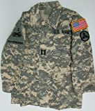 Kids ACU Digital Army Jacket with Authentic Patches