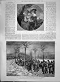 Antique Print of 1892 Lord Henry Lady Charlotte Spencer Famine Russia ...