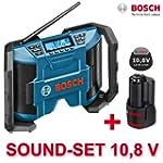 Bosch Soundset Akkuradio - Netzradio...