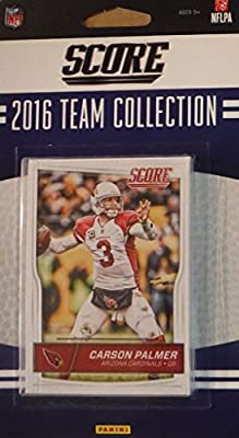 Arizona Cardinals 2016 Score EXCLUSIVE Factory Sealed Team set with Carson Palmer, Larry Fitzgerald, Robert Nkemdiche Rookie plus