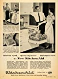 1955 Ad Kitchen Aid Home Appliance Dish Washer House - Original Print Ad