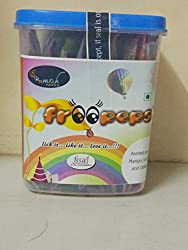 Froopops Assorted Lollipops (Mango,Chikoo and Jamun) Pack of 25, 300 Grams