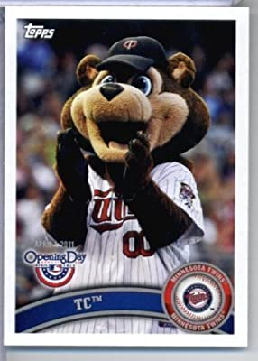 2011 Topps Opening Day Mascots Baseball Card #M14 T.C. - Minnesota Twins - MLB Trading Card