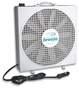 Amazon Com Fan Tastic 01100wh Endless Breeze Stand Alone