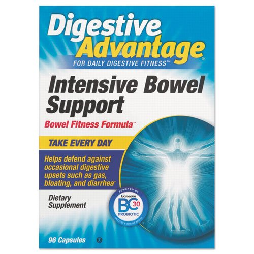 Digestive Advantage - Probiotic Intensive Bowel Support Capsule, 96 Count 00117Da (Dmi Ea