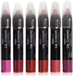 6 Creamy Lip Crayon Twist Up Auto Jumbo Lip Pencils In 6 Different Colors New