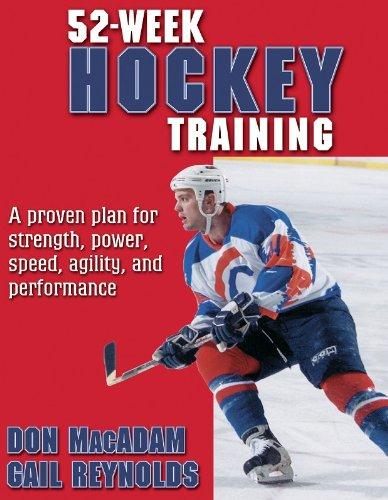 52-Week Hockey Training (52-Week Sport Training Series)