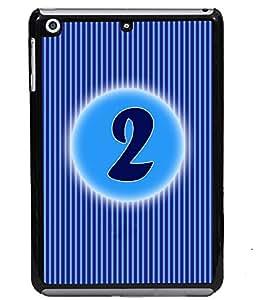 Printvisa 2D Printed Numerology Designer back case cover for Apple I Pad Mini 2 - D4219