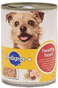 Pedigree Healthy Plus Can Dog Food Case Heart