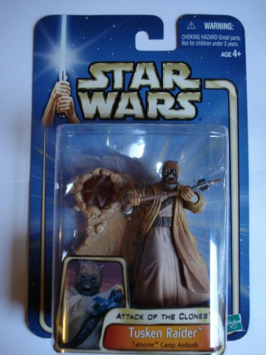 Star Wars Attack of the Clones Tusken Raider-tatooine Camp Ambush