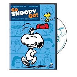 Happiness Is Peanuts: Go Snoopy Go