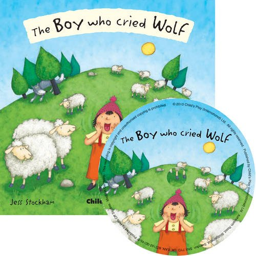 The Boy Who Cried Wolf (Book & CD) (Flip-Up Fairy Tales) (Fairy Tales For Boys)