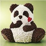 ≪バレンタインデーギフト≫立体デコレーションケーキ「パンダベアー」【お届けは2月12日から14日】