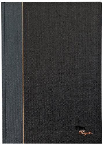 TOPS Royale Business Casebound Notebook, College Rule, 8.25 x 11.75 Inches, 96 Sheets (25232) (Tops Notebook compare prices)