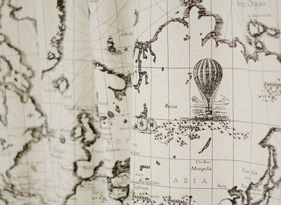 cotton-linen-fabric-cloth-diy-cloth-art-manual-cloth-map-world