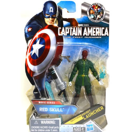 Buy Low Price Hasbro Red Skull (Chase): Captain America #08 Movie Series 2 Wave 2 Action Figure (B005AUXQXI)