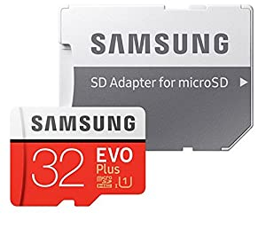 32GB Samsung Evo Plus Micro (2 Pack) SDHC Class 10 UHS-1 32G Memory Card (MB-MC32) with Everything But Stromboli (TM) Card Reader (Tamaño: 32GB)