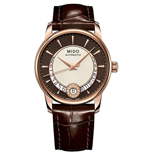 mido-womens-automatic-watch-baroncelli-m0072073629100-with-leather-strap