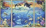 Schipper 609260531 - Malen nach Zahlen - Am Korallenriff, 50x80 cm von Noris
