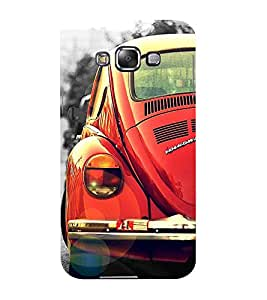 Mental Mind 3D Printed Plastic Back Cover For Samsung Galaxy E7- 3DSAME7-G1042