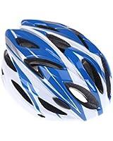 Anself casque de vélo cyclisme sportif Ultraléger moulé solidairement avec visière adulte