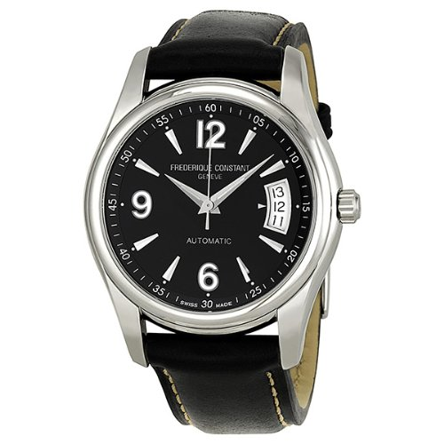 Frederique Constant Men's FC-303B4B26 Junior Black Dial Watch