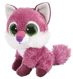 Wild Republic Fox Plush Toy, Stuffed Animal, Plush Toy, Raspberry L'il Sweet & Sassy 5 (Color: Raspberry, Tamaño: 5)