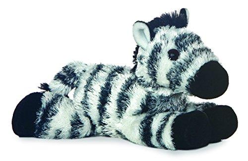 """Aurora Zany Zebra 8"""" Mini Flopsie Plush - 1"""